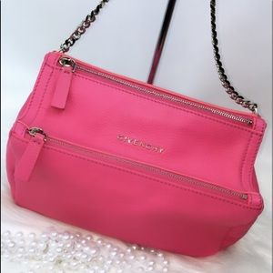 GIVENCHY Mini Pandora Bag neon pink